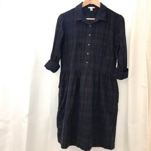 Gap Plaid Shirtdress (never worn)